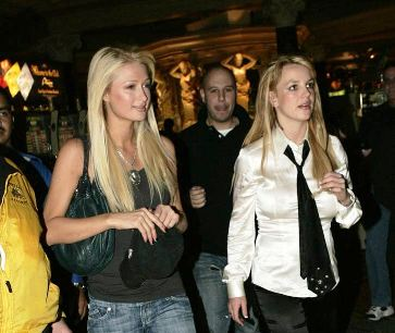 paris and britney hang out