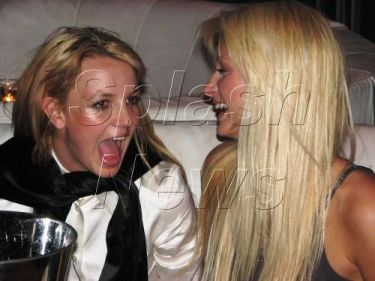 paris hilton with britney spears