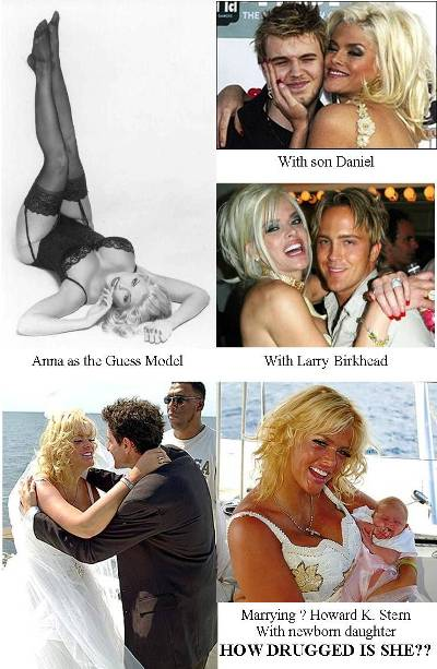 anna nicole smith celebrity morgue