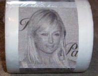 paris hilton toilet paper