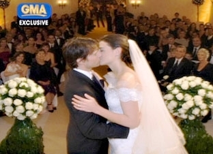 Tom Cruise Katie Holmes The Happy Couple