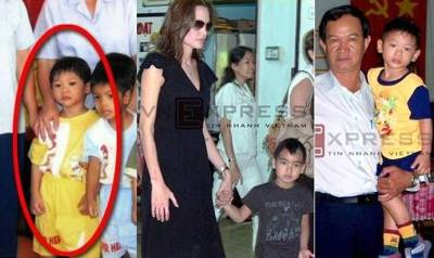 angelina adopts boy