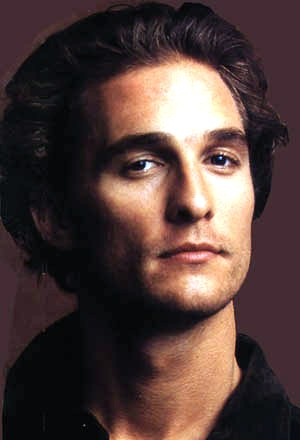 matthew mcconaughey close up