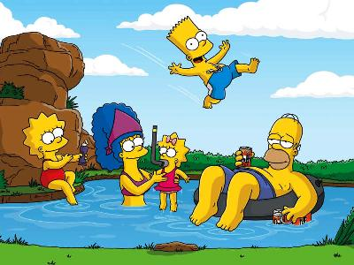 The Simpsons Vermont
