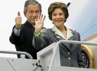 george laura bush