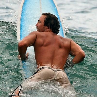 matthew mcconaughey surfing