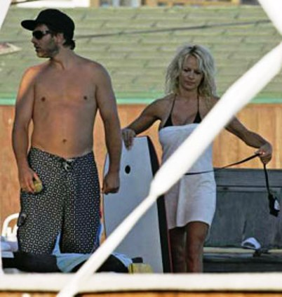 pam anderson rick salomon married
