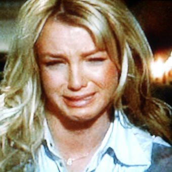 britney spears crying