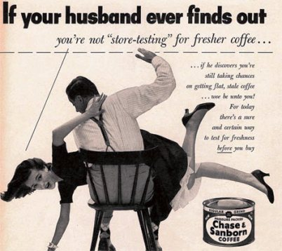 coffee ad 1952