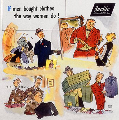 Pacific label ad 1946