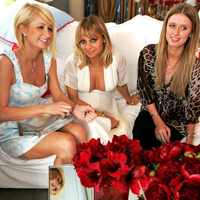 nicole richie baby shower paris hilton