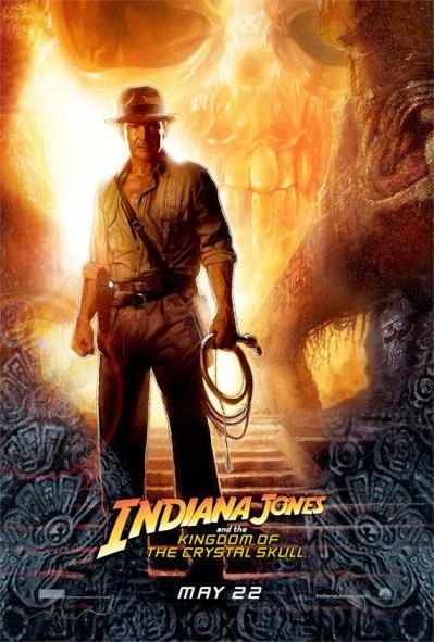indiana jones 4 kingdom of the crystal skull movie poster
