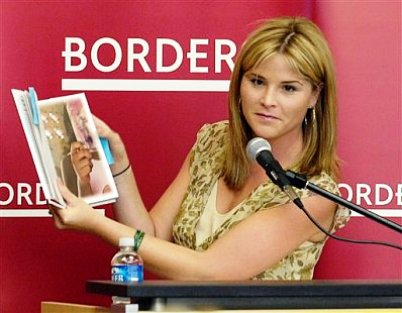 jenna bush book tour
