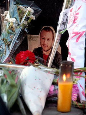 heath ledger shrine