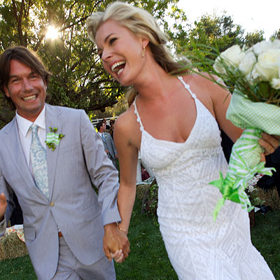 Jerry O'Connell and Rebecca Romijn married