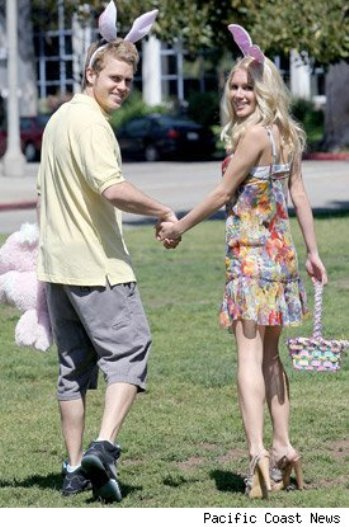 heidi montag spencer pratt easter