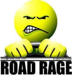 road rage yellow face