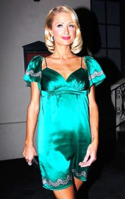 is paris hilton pregnant