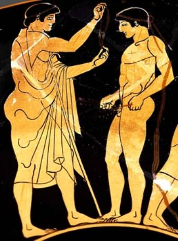 ancient olympic games artwork