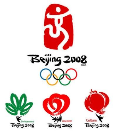 beijing olympics 2008 logos