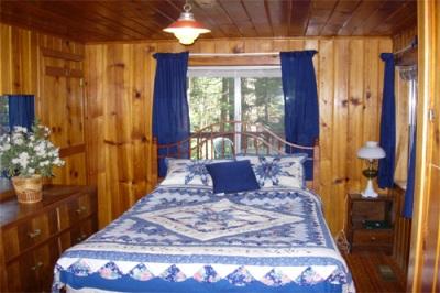 twain harte vacation rentals blue bedroom