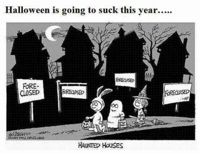 bad economy halloween cartoon