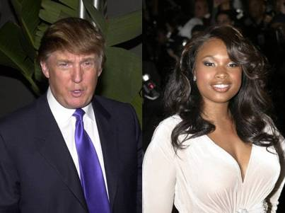 donald trump offers jennifer hudson place to stay