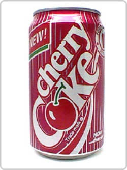 cherry coke was introduced in 1985