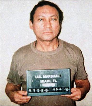 manuel noriega mug shot