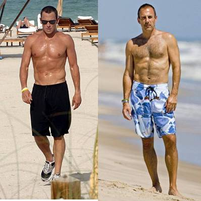 lance armstrong shirtless matt lauer