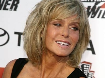 farrah fawcett released from hospital cancer