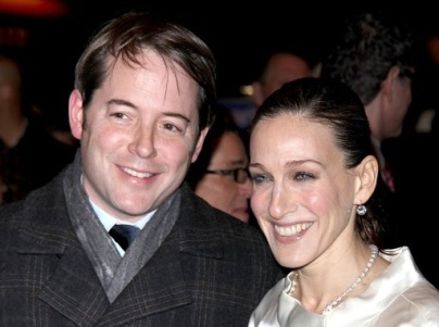 matthew broderick sarah jessica parker welcome twin girls