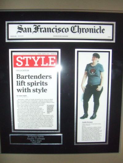 andie ferman st george spirits bartender