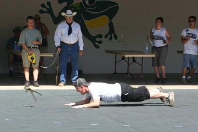 calaveras county frog jump competition