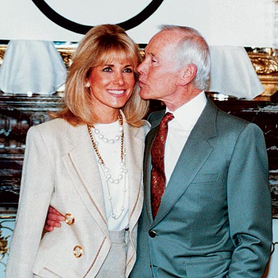 johnny carson marries alexis mass 1987