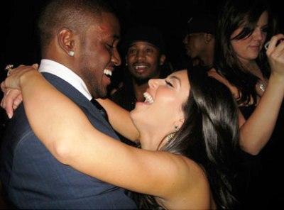 kim kardashian reggie bush not engaged