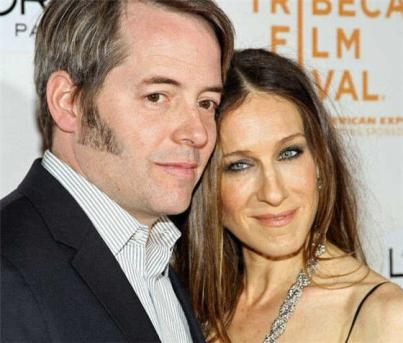 sarah jessica parker matthew broderick welcome twin girls