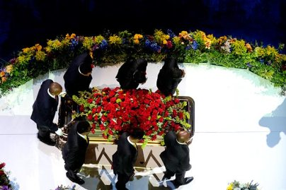 michael jackson casket photo pallbearers