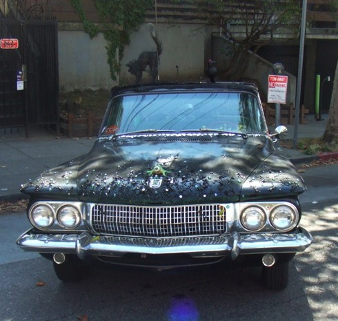 berkeley art car black cat