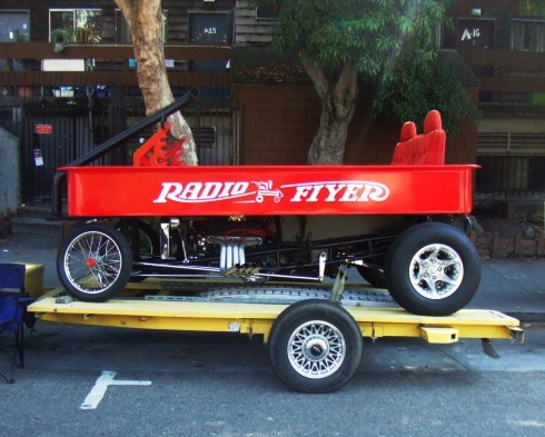 berkeley art car radio flyer