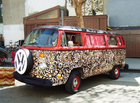 berkeley art car leopard