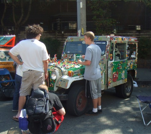 berkeley art car legos