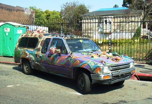 berkeley art car tile