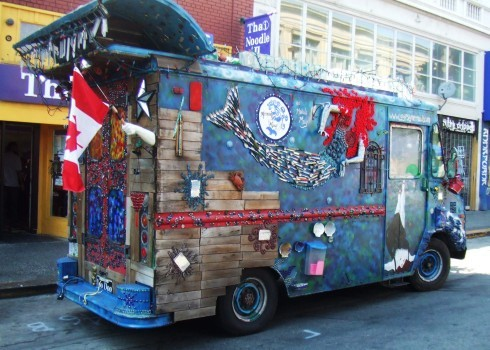 berkeley art car van