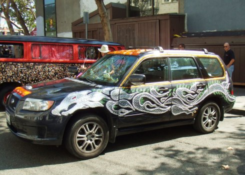 berkeley art car bling