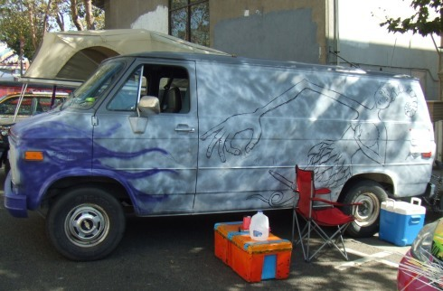 berkeley art car in progress