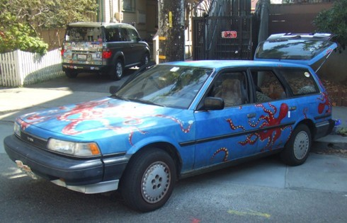 berkeley art car octopus