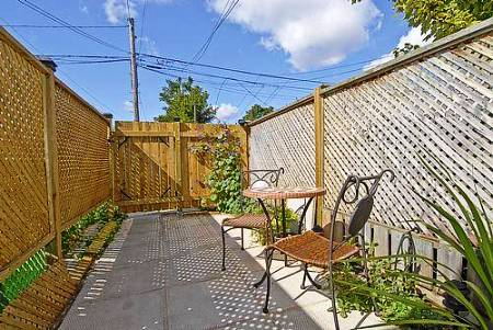 smallest house in brooklyn new york backyard away from house