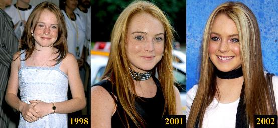lindsay lohan used to be cute