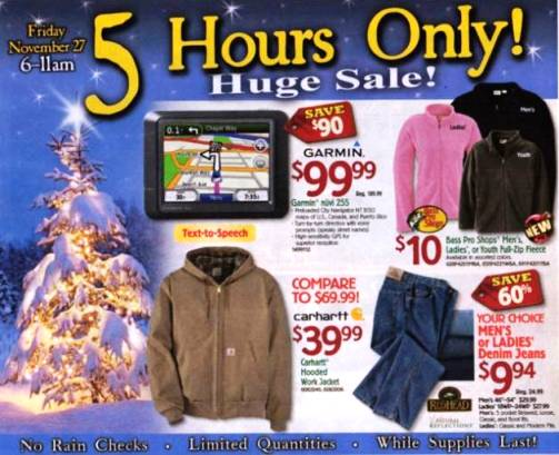 bass pro shop black friday ad